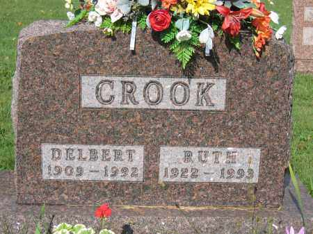 CROOK, DELBERT - Union County, Ohio | DELBERT CROOK - Ohio Gravestone Photos