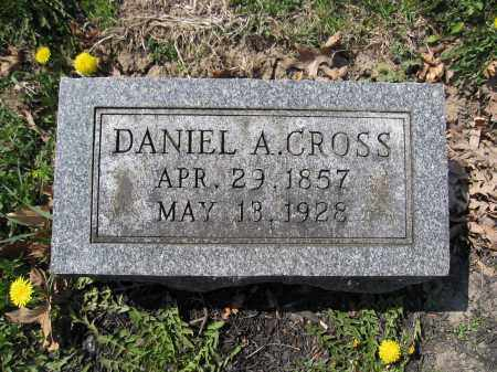 CROSS, DANIEL A. - Union County, Ohio | DANIEL A. CROSS - Ohio Gravestone Photos