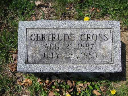 CROSS, GERTRUDE - Union County, Ohio | GERTRUDE CROSS - Ohio Gravestone Photos
