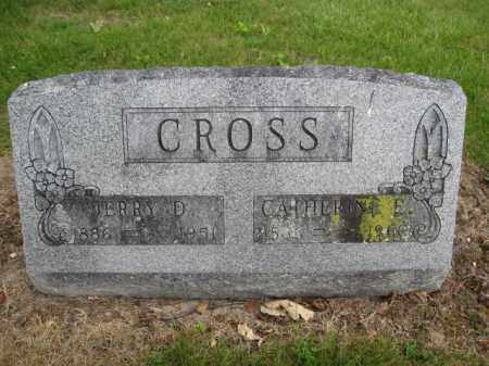 CROSS, CATHERINE E. - Union County, Ohio | CATHERINE E. CROSS - Ohio Gravestone Photos