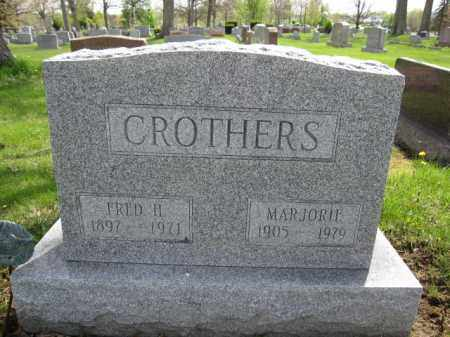 CROTHERS, MARJORIE - Union County, Ohio | MARJORIE CROTHERS - Ohio Gravestone Photos