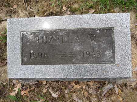 CROTHERS, ROZELLA W. - Union County, Ohio | ROZELLA W. CROTHERS - Ohio Gravestone Photos