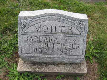 CROTTINGER, BARBARA - Union County, Ohio | BARBARA CROTTINGER - Ohio Gravestone Photos
