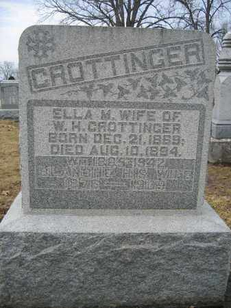 CROTTINGER, BLANCHE - Union County, Ohio | BLANCHE CROTTINGER - Ohio Gravestone Photos