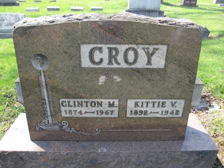 CROY, CLINTON M. - Union County, Ohio | CLINTON M. CROY - Ohio Gravestone Photos