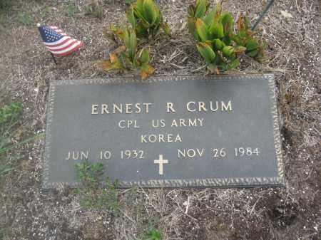 CRUM, ERNEST R. - Union County, Ohio | ERNEST R. CRUM - Ohio Gravestone Photos