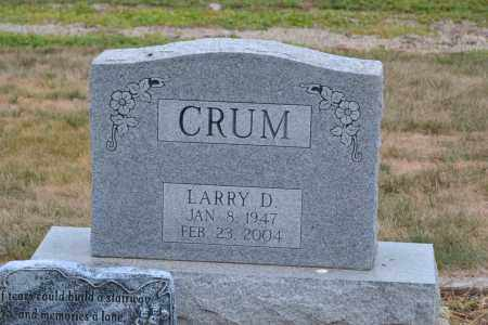 CRUM, LARRY D. - Union County, Ohio | LARRY D. CRUM - Ohio Gravestone Photos