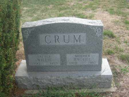 CRUM, RACHEL - Union County, Ohio | RACHEL CRUM - Ohio Gravestone Photos