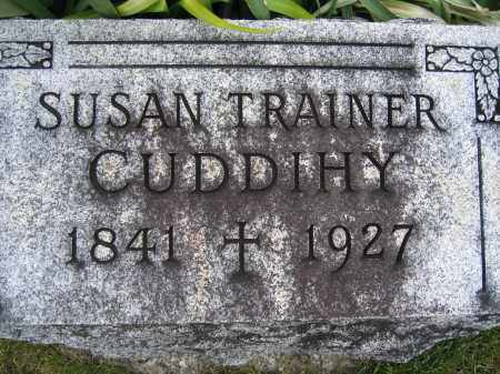 TRAINER CUDDIHY, SUSAN - Union County, Ohio | SUSAN TRAINER CUDDIHY - Ohio Gravestone Photos