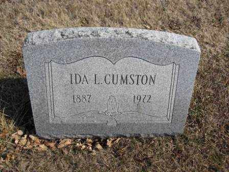 CUMSTON, IDA L. - Union County, Ohio | IDA L. CUMSTON - Ohio Gravestone Photos
