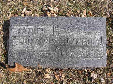 CUMSTON, JONAS E. - Union County, Ohio | JONAS E. CUMSTON - Ohio Gravestone Photos