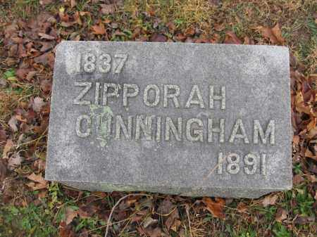 CUNNINGHAM, ZIPPORAH - Union County, Ohio | ZIPPORAH CUNNINGHAM - Ohio Gravestone Photos
