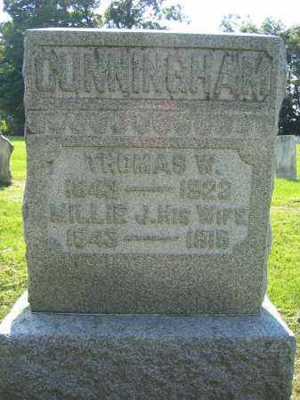 CUNNINGHAM, THOMAS W. - Union County, Ohio | THOMAS W. CUNNINGHAM - Ohio Gravestone Photos