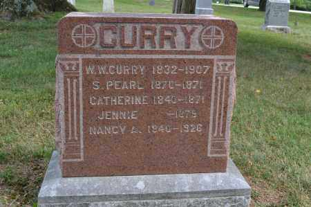 CURRY, W.W. - Union County, Ohio | W.W. CURRY - Ohio Gravestone Photos
