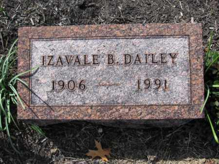 DAILEY, IZAVALE B. - Union County, Ohio | IZAVALE B. DAILEY - Ohio Gravestone Photos