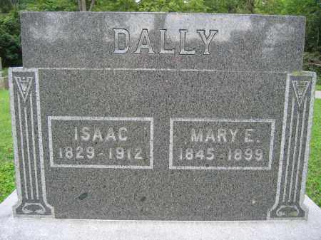 DALLY, MARY E. - Union County, Ohio | MARY E. DALLY - Ohio Gravestone Photos