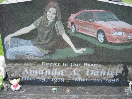 DANIEL, AMANDA A. - Union County, Ohio | AMANDA A. DANIEL - Ohio Gravestone Photos