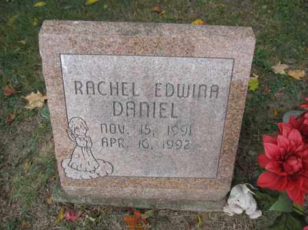 DANIEL, RACHEL EDWINA - Union County, Ohio | RACHEL EDWINA DANIEL - Ohio Gravestone Photos