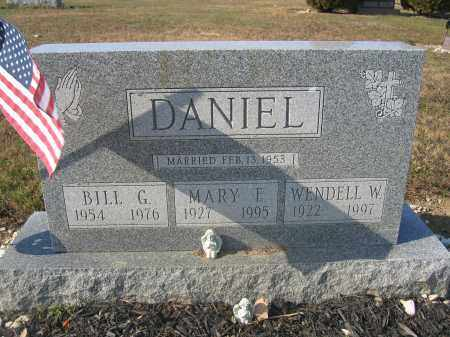DANIEL, BILL G. - Union County, Ohio | BILL G. DANIEL - Ohio Gravestone Photos