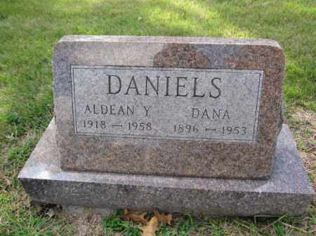 DANIELS, ALDEAN Y. - Union County, Ohio | ALDEAN Y. DANIELS - Ohio Gravestone Photos