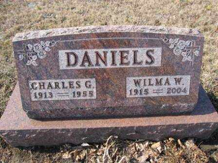 DANIELS, CHARLES G. - Union County, Ohio | CHARLES G. DANIELS - Ohio Gravestone Photos