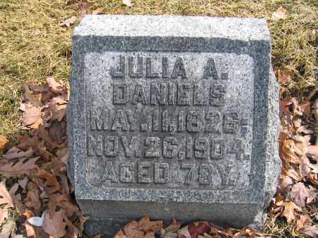 DANIELS, JULIA A. - Union County, Ohio | JULIA A. DANIELS - Ohio Gravestone Photos
