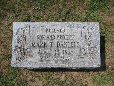 DANIELS, MARK T. - Union County, Ohio | MARK T. DANIELS - Ohio Gravestone Photos