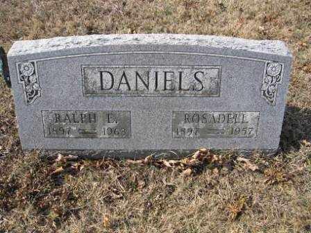 DANIELS, RALPH E. - Union County, Ohio | RALPH E. DANIELS - Ohio Gravestone Photos