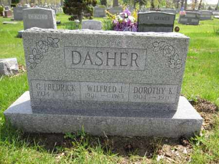 DASHER, WILFRED J. - Union County, Ohio | WILFRED J. DASHER - Ohio Gravestone Photos