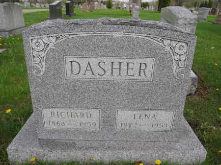 DASHER, LENA - Union County, Ohio | LENA DASHER - Ohio Gravestone Photos