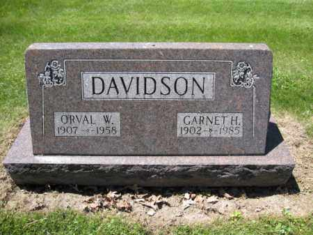 DAVIDSON, GARNETH H. - Union County, Ohio | GARNETH H. DAVIDSON - Ohio Gravestone Photos