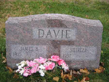 DAVIE, SHIRLEY - Union County, Ohio | SHIRLEY DAVIE - Ohio Gravestone Photos