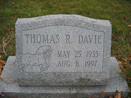 DAVIE, THOMAS R. - Union County, Ohio | THOMAS R. DAVIE - Ohio Gravestone Photos