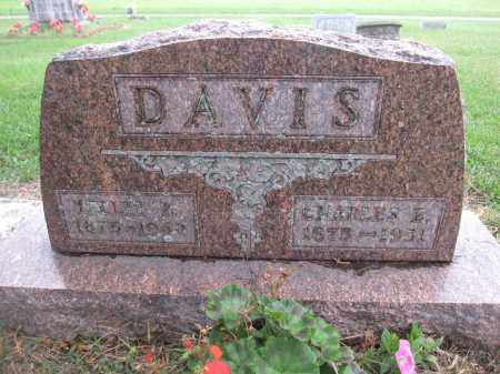 DAVIS, TELLIE B - Union County, Ohio | TELLIE B DAVIS - Ohio Gravestone Photos