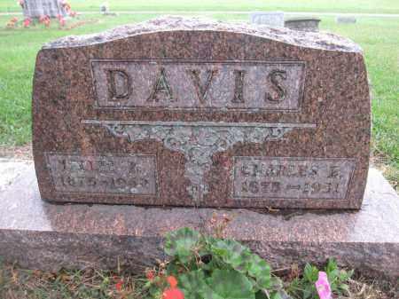 DAVIS, CHARLES E - Union County, Ohio | CHARLES E DAVIS - Ohio Gravestone Photos