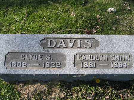 DAVIS, CLYDE S. - Union County, Ohio | CLYDE S. DAVIS - Ohio Gravestone Photos