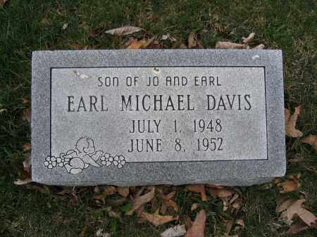 DAVIS, EARL MICHAEL - Union County, Ohio | EARL MICHAEL DAVIS - Ohio Gravestone Photos