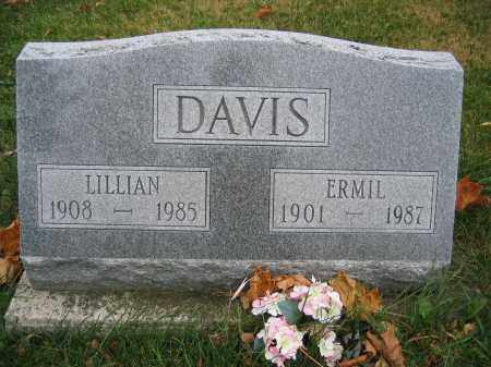DAVIS, LILLIAN - Union County, Ohio | LILLIAN DAVIS - Ohio Gravestone Photos