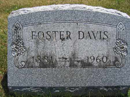DAVIS, FOSTER - Union County, Ohio | FOSTER DAVIS - Ohio Gravestone Photos