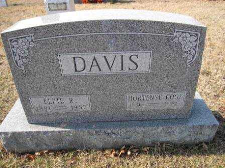 DAVIS, ELIZE R. - Union County, Ohio | ELIZE R. DAVIS - Ohio Gravestone Photos