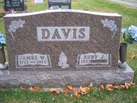 DAVIS, JAMES W. - Union County, Ohio | JAMES W. DAVIS - Ohio Gravestone Photos