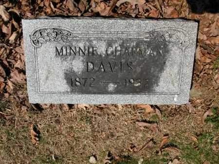 DAVIS, MINNIE CHAPMAN - Union County, Ohio | MINNIE CHAPMAN DAVIS - Ohio Gravestone Photos