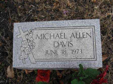 DAVIS, MICHAEL ALLEN - Union County, Ohio | MICHAEL ALLEN DAVIS - Ohio Gravestone Photos