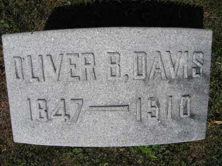 DAVIS, OLIVER B. - Union County, Ohio | OLIVER B. DAVIS - Ohio Gravestone Photos