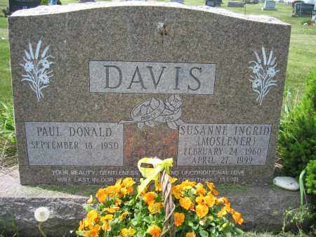 DAVIS, PAUL DONALD - Union County, Ohio | PAUL DONALD DAVIS - Ohio Gravestone Photos