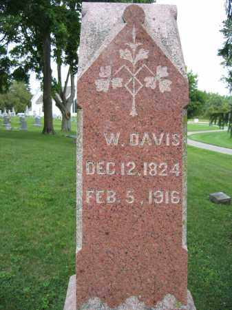 DAVIS, W. - Union County, Ohio | W. DAVIS - Ohio Gravestone Photos