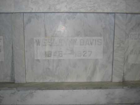 DAVIS, WESLEY W. - Union County, Ohio | WESLEY W. DAVIS - Ohio Gravestone Photos