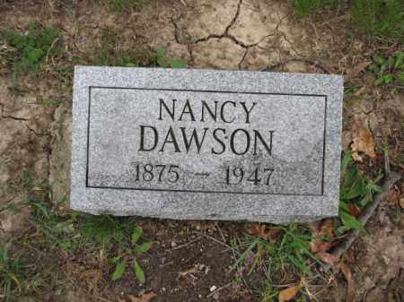 DAWSON, NANCY - Union County, Ohio | NANCY DAWSON - Ohio Gravestone Photos