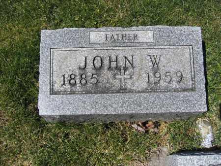 DE VINE, JOHN W. - Union County, Ohio | JOHN W. DE VINE - Ohio Gravestone Photos