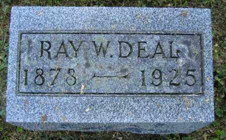 DEAL, RAY W. - Union County, Ohio | RAY W. DEAL - Ohio Gravestone Photos